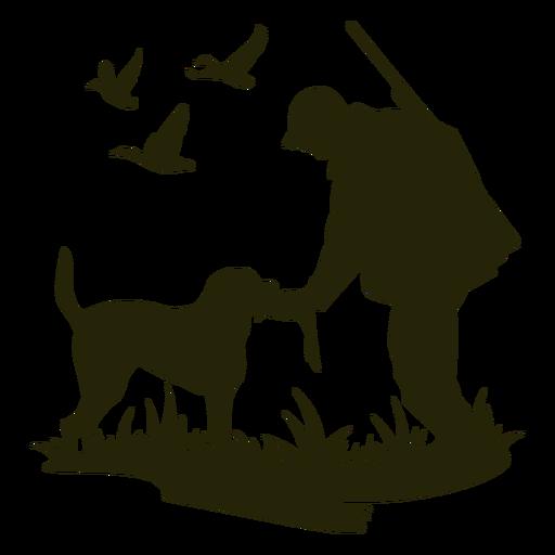 Perro de alimentación de caza