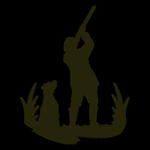Hunting hunter aiming Transparent PNG