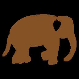 Elefante indiano de símbolos