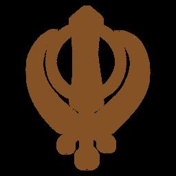 Indische Symbole khanda