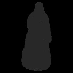 Mulheres islâmicas com véu voltado para a frente