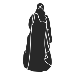 Mulheres islâmicas véu virado para a frente