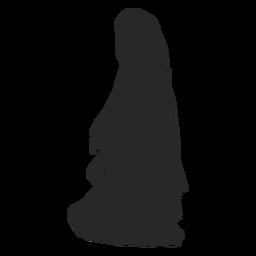 Velo de mujer islámica caminando hacia la izquierda