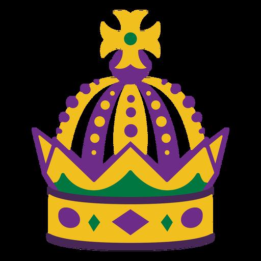 Mardigras crown flat