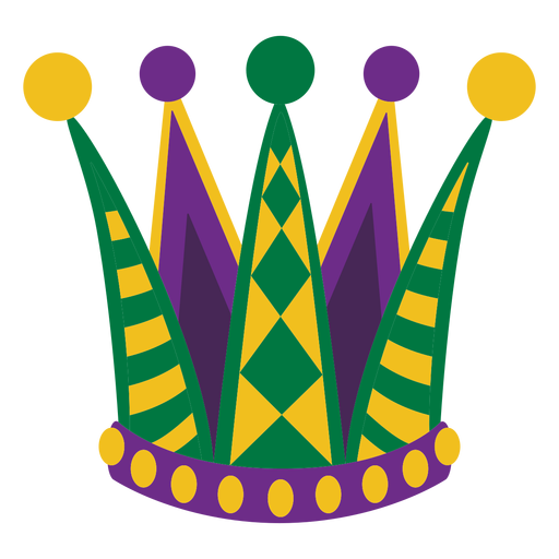 Sombrero de fiesta Mardigras plano Transparent PNG