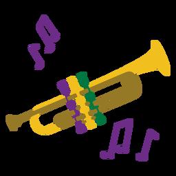 Mardigras trumpet flat