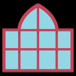 Cúpula de ventana plana