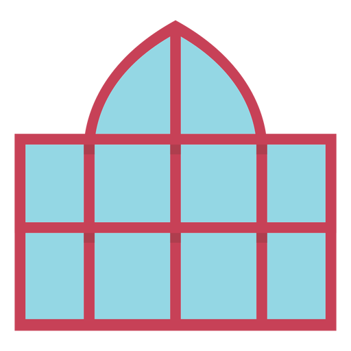 Window dome flat Transparent PNG