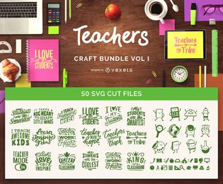 Paquete de manualidades para maestros Vol I