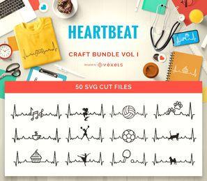 Pacote de artesanato Heartbeat Passions Vol I