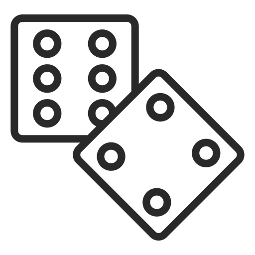 2 dices stroke
