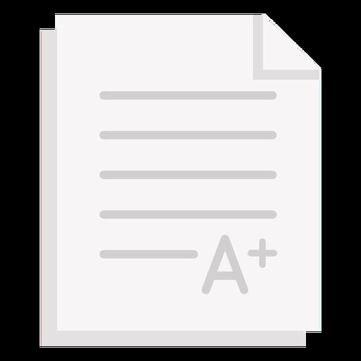 A grading paper