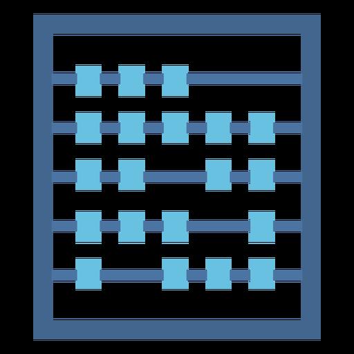 Abacus calculator flat Transparent PNG