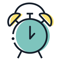 Alarm clock stroke icon alarm clock