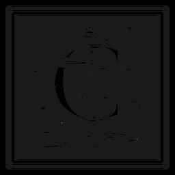 Art noveau c letter