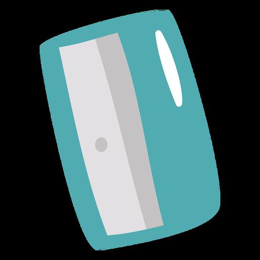 Blue sharpener flat