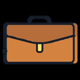Icono de trazo de maleta de ceja