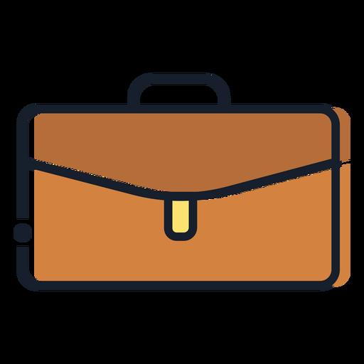 Brow suitcase stroke icon