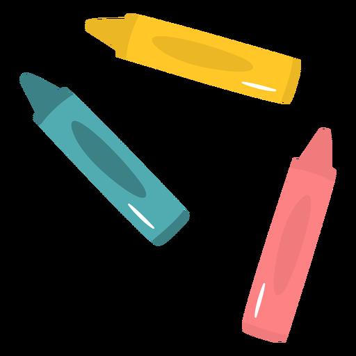 Lápis de cor liso
