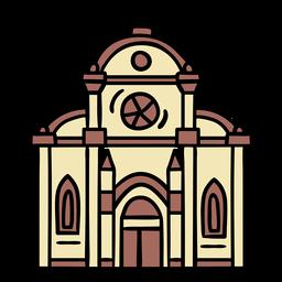 Ilustración de la iglesia croata