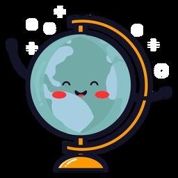 Desenho de globo terra bonito