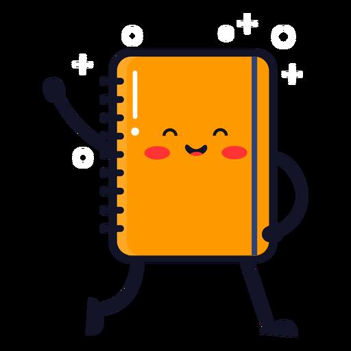 Cute notebook cartoon