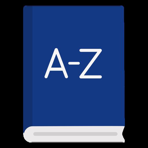 Dictionary book flat Transparent PNG