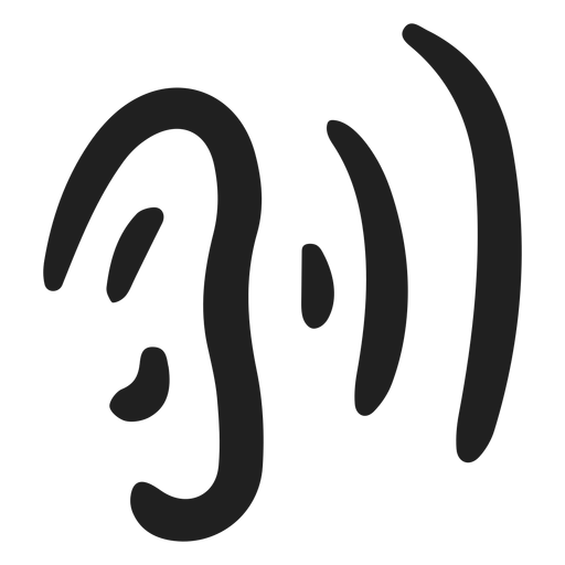 Doodle de audición de oído