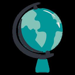 Terra globo mão desenhada