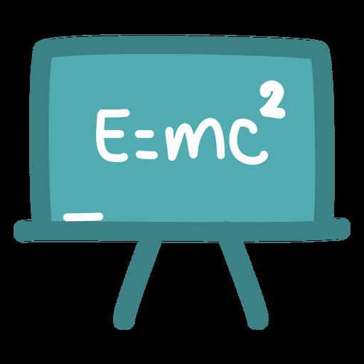 Pizarra de fórmula de Einstein Transparent PNG