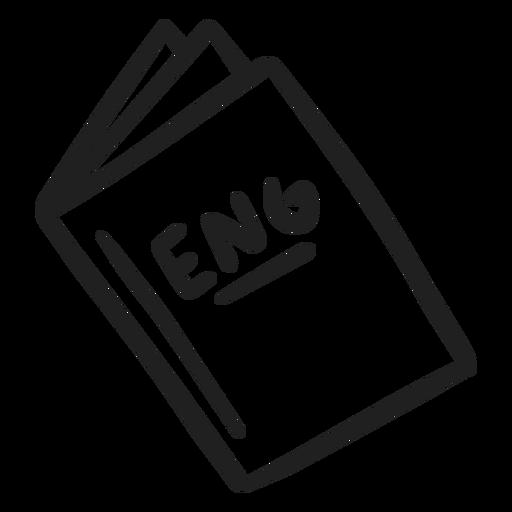English book stroke