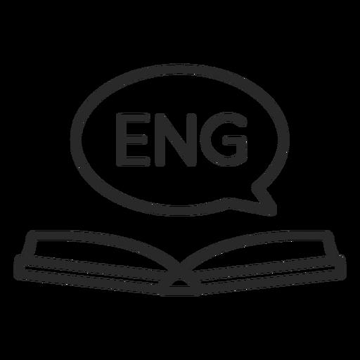 English open book stroke