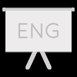 English presentation flat