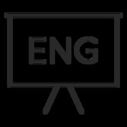 English presentation stroke