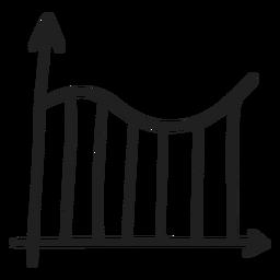Graph curve doodle