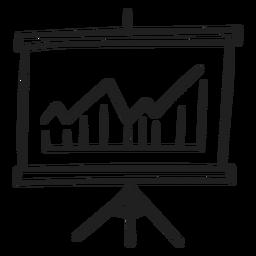 Doodle de presentación gráfica