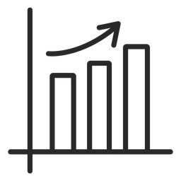 Growing graph bars stroke