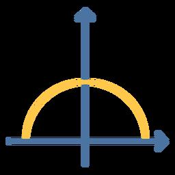 Half circle function flat