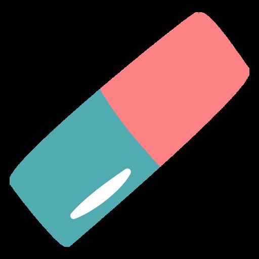 Ink eraser flat Transparent PNG