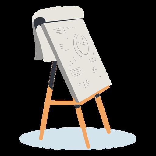 Bloco de desenho grande desenhado à mão