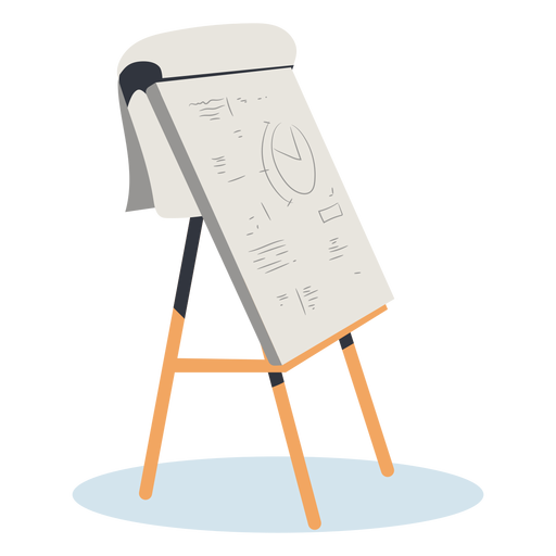 Large sketch pad hand drawn