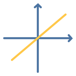 Lineal function graph flat