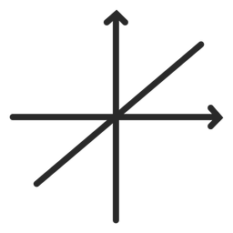 Lineal function graph stroke