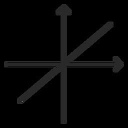 Trazo de gráfico de función lineal