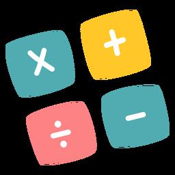 Operaciones de iconos de colores