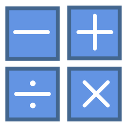 Operations flat icons