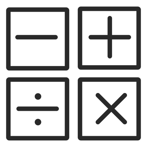 Operations stroke icons
