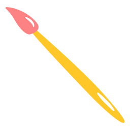 Paint brush flat