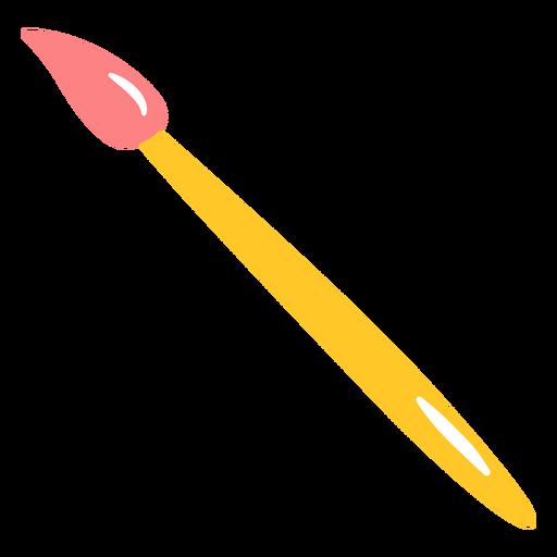 Paint brush flat