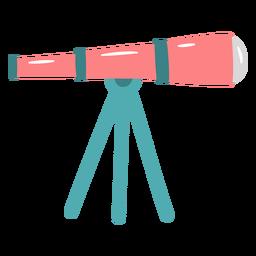 Pink telescope flat